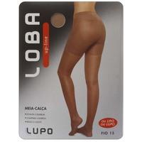 Meia-calça Loba Feminina Up-line Fio 15 Lupo Bege