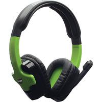 Headset Gamer DAZZ Cerberus 2.0 XBOX 360 Preto e Verde