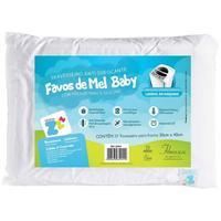 Travesseiro Antissufocante Fibrasca Favinhos Baby Lavável Bege