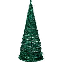 Árvore de Natal Santini Festão Verde 1.60m