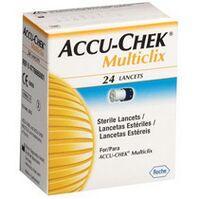 Lancetas Accu-Chek Multiclix Performa c/ 24 Unidades Roche