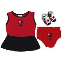 Vestido Torcida Baby Flamengo
