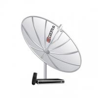 Antena Parabólica Cromus Kit 1.50m Receptor CR 1500