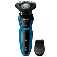 Barbeador Philips Aquatouch 5000 S5050/4 Bivolt Preto e Azul