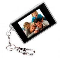 Mini Porta Retratos Digital Chaveiro Coby LCD 1.8\