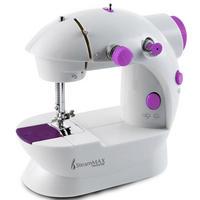 Máquina de Costura SteamMax MaxHome SM-500 Branco e Rosa