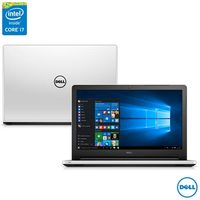 Notebook Dell Inspiron 15 5000 i15-5558-A50 Intel Core i7-5500U 8GB 1TB 3.0GHz Windows 10 Branco