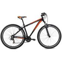 Bicicleta Tito Bikes Cliff VB MTB 27.5 21 Marchas Aro 17 Preta e Laranja