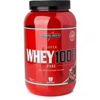 Suplemento Integralmédica Super Whey 100% Pure Body Size Chocolate 907g