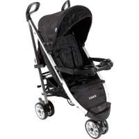 Carrinho de Bebê Cosco SC900 Umbrella Deluxe Preto
