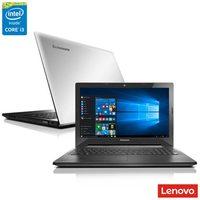 "Notebook Lenovo G50-80 i3-5005U 4GB 1TB 2GHz 15.6"" Windows 10 Prata"