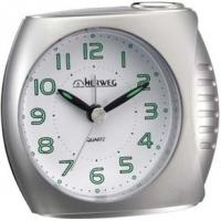 Despertador Quartz Prata 10x9x5cm