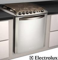 Fogão Embutir Electrolux Celebrate 56TXE 4 Bocas Inox