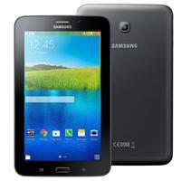 """Tablet Samsung Galaxy Tab E 7.0 SM-T116BU 7"""" 3G Android 4.4 Preto"""