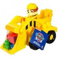 Veículo com Blocos de Montar Patrulha Canina Rubble Bulldozer e Trator Sunny