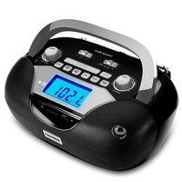 Rádio Portátil Mondial Entrada USB Entrada SD Card BX-12