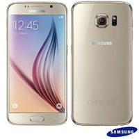 Smartphone Samsung Galaxy S6 SM-G920I Desbloqueado GSM 4G 32GB Android Dourado