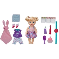 Boneca Bebê Hasbro Baby Alive Festa do Pijama Loira