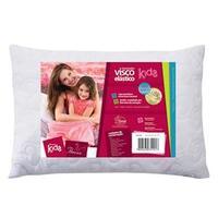 Travesseiro Infantil Fibrasca Visco Kids Branco