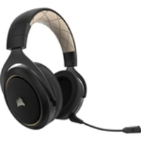 Headset Gamer Corsair Hs70 Se Wireless Dourado/preto