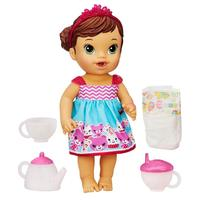 Boneca Baby Alive Hasbro Hora do Chá Morena
