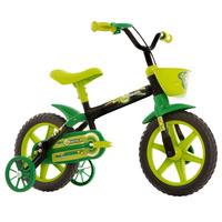 Bicicleta Track & Bikes Arco-Íris Aro 12 Verde
