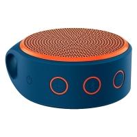 Caixa de Som Portátil Logitech Bluetooth 3.2W RMS X100 Laranja