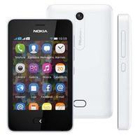 Celular Nokia Asha 501 Desbloqueado GSM Dual Chip Branco + Cartão de Memória 4GB