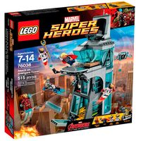 Lego Super Heroes 15 Ataque a torre dos Vingadores 76038