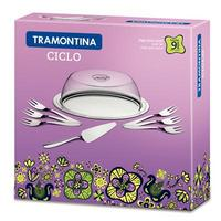 Conjunto para Torta Tramontina 9 Peças Ciclos Inox