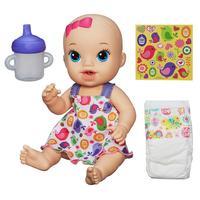 Boneca Baby Alive Hasbro Hora do Xixi Loira