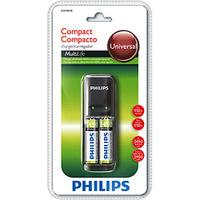 Carregador de Pilha Philips AAA e AA 2 Pilhas AA