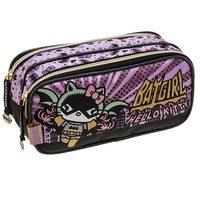 Estojo Duplo Pacific Hello Kitty Batgirl 964B14 Roxo