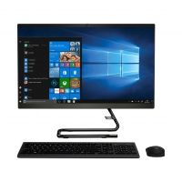 "Computador All in One Lenovo IdeaCentre A340-24IWL F0E8004YBP i3-8145U 4GB 2.1GHz 1TB 23,8"" Windows 10 Preto"