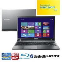Notebook Samsung 550P5C-AD1 Core i7 3630QM 2.4GHz 8GB 1TB Windows 8