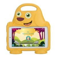 Tablet Dl Drop Kids Tx306br 8gb 3g Wifi Com Capa De Cachorro