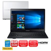 Notebook Samsung Expert X21 370E4K-KW2 Core i5-5200U 2.2GHz 8GB 1TB Windows 10