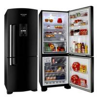 Refrigerador Brastemp Inverse All Black 422 Litros BRE50NE