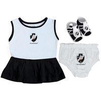 Vestido Torcida Baby Vasco