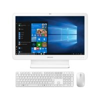 "Computador All in One Samsung E3 i3-7100U 4GB 500GB 2.4GHz 21,5"" Windows 10 Branco"