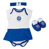 Vestido Torcida Baby Bahia