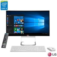 "Computador All-In-One LG Intel 23,8"" Core i5 -5200U 4 GB 1 TB 24V550-G.BJ33P1"
