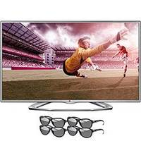 TV LED 3D 42'' Cinema LG 42LA6130 + 4 Óculos 3D