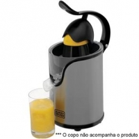 Espremedor de Frutas Black and Decker CJ Inox 110V