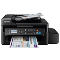 Impressora Multifuncional 4 em 1 Epson Ecotank L575 Colorida Wireless Preta