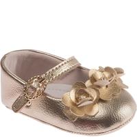 Sapato Pimpolho Fofura Dourado