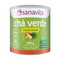 Chá Verde Sanavita Abacaxi com Hortelã 250g