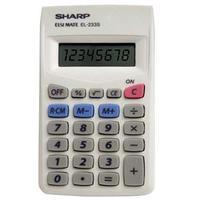 Calculadora Pessoal Sharp EL233SBK Branco