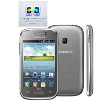 Smartphone Samsung Galaxy Young Duos TV GT-S6313T Desbloqueado GSM Dual Chip Android Prata