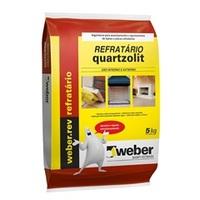 Argamassa Ferma para Refratário Quartzolit 5kg